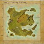 Alte Karte vor Valvecs Untergang